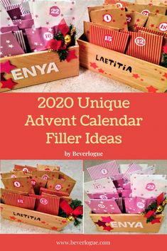 Advent Calendar Fillers, Advent Calendars For Kids, Christmas Countdown, Christmas Eve, Fun Activities For Kids, All Things Christmas, How To Memorize Things, Gift Wrapping, Diy Crafts
