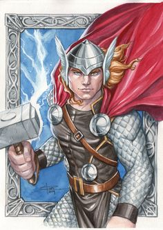 Thor by Sabine Rich *