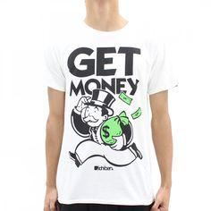 Ichiban Get Money 2014 T-Shirt White - Ichiban from Ichiban Clothing UK