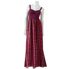 Kohls  Mudd Striped Maxi Dress - Juniors Sassy date night dress, through on a cardigan and your good to go for fall too