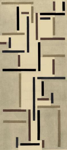Rhythms of a Russian Dance, Theo van Doesburg, 1918