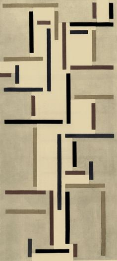 Rhythms of a Russian Dance, Theo van Doesburg, 1918