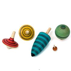 Top Champion Set Colors | Tops & Yoyos | WOODEN TOYS | TheWoodenWagon