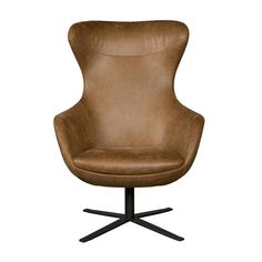 I-Sofa Fauteuil Elvi cognac bruin leer - wonenmetlef. Dining Room Chair Cushions, Wayfair Living Room Chairs, Eames Chairs, Patio Chairs, Sofa Chair, Armchair, Chaise Diy, Comfortable Living Room Chairs, Hanging Chair From Ceiling