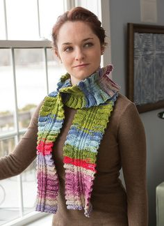 Molly Scarf By Susan Mills - Purchased Knitted Pattern - (ravelry)