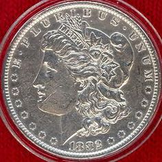 Morgan Silver Dollar 1882-O The most sought silver coin in America is the Morgan Silver Dollar. http://buy-investment-coins.com