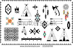 Find Aztec Vector Elements Set stock images in HD and millions of other royalty-free stock photos, illustrations and vectors in the Shutterstock collection. Spiritual Symbols, Aztec, Royalty Free Stock Photos