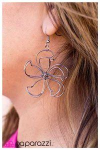 Only $5. Available at JennieMJewelry.com Gunmetal Wire Daisy (Large) - Blockbuster Earring