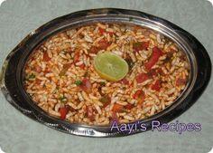Spicy Puffed Rice (Masala Mandakki/Chirmuri)