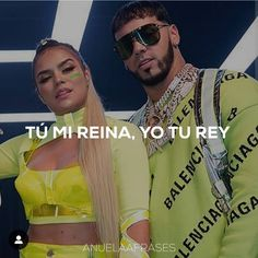 Anuel Aa Quotes, Kissing Booth, Latin Music, Famous Couples, Spanish Quotes, Bad Boys, Couple Goals, Diva, Mens Sunglasses