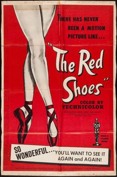 "Movie Posters:Fantasy, The Red Shoes (Fine Arts Films, R-1950s. One Sheet (27"" X 41"").Fantasy.. ... Image #1"