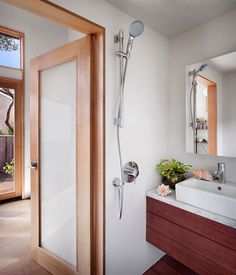 small guest house bathroom