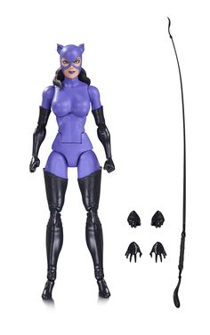 DC Icons Catwoman Action Figure - DC Collectibles - Batman - Action Figures at… Dc Comics Shop, Dc Comics Art, Dc Comics Action Figures, Custom Action Figures, Lego Scooby Doo, Dc Icons, Deathstroke, San Diego Comic Con, Sideshow Collectibles
