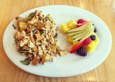 The one place where I actually salivate thinking about their salads and tofu dishes @thesteepingroom... Pictured is the tofu scramble with fresh fruit.  #thesteepingroom #steepit #healthy #healthyfood #foodporn #forkyeah #atx #austin #austintx #austineats #eatatx #eateratx #eateraustib #eataustin #eat512 #WhatWouldAnnaEat by annaeatsworld