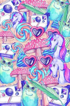 wallpaper unicorn tumblr - Buscar con Google