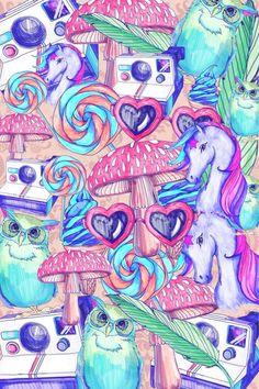 wallpaper unicorn tumblr - Buscar con Google
