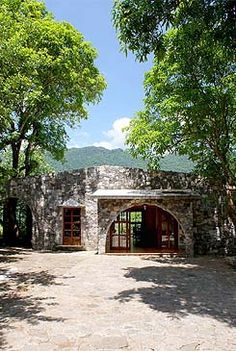 Hostal Casa de Piedra Hotel and Restaurant in El Cielo Reserva of the Biosfera in Gomez Farias, Tamaulipas, MEXICO.