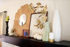 Our Home, Fall 2014 | Mantel | PepperDesignBlog.com