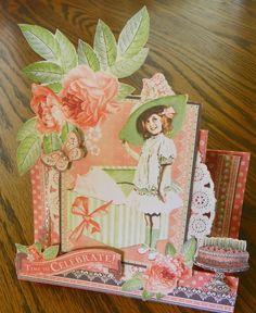 Center step birthday card - Scrapbook.com