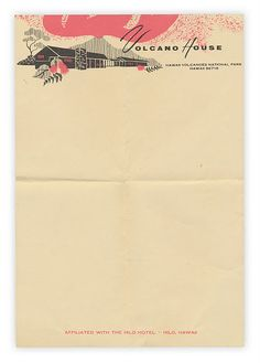 Letterhead used to be so cool. (Check out that gorgeous pink and peach!)