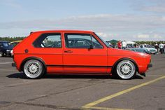 Classic Car News Pics And Videos From Around The World Wolkswagen Golf, Vw Golf Gt, Golf Mk2, Vw Golf Cabrio, Volkswagen Golf Mk1, Vw Mk1, Kdf Wagen, Bmw E38, Bmw 2002