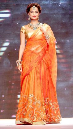 Dia Mirza at the Indian International Jewellery Week 2014.