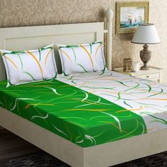 Buy Colourful Bedsheets (Code: online from sourgrape's online African Interior Design, Bed Sheet Sizes, Designer Bed Sheets, Home Room Design, Bed Styling, House Rooms, Home Textile, Bed Spreads, Home And Living