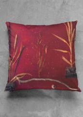 Red autumn pillow: What a beautiful product!