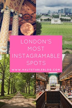 My guide to the best Instagram spots in London. #instagram #travel #london