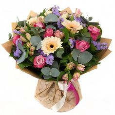 Flowers: «l remember you Beautiful Flower Arrangements, Colorful Flowers, Floral Arrangements, Beautiful Flowers, Hand Bouquet, Mother's Day Bouquet, Flowers In The Attic, Arte Floral, Floral Bouquets