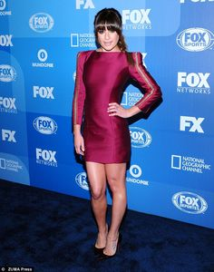 New role: Lea is currently filming upcoming FOX TV series, Scream Queens, alongside Emma R...
