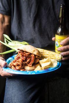 The Best Slow Cooker BBQ Chicken | halfbakedharvest.com @hbharvest
