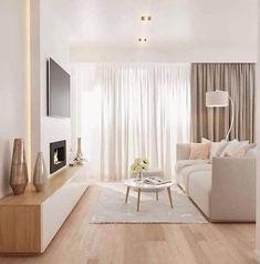 125 gorgeous living room color schemes to make your room cozy page 31 Home Living Room, Interior Design Living Room, Living Room Designs, Living Room Decor, Scandi Living Room, Beige Living Rooms, Interior Livingroom, Spacious Living Room, Bedroom Decor