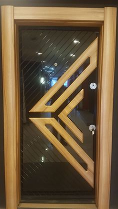 Top 50 Modern Wooden Door Design Ideas You Want To Choose Them For Your Home - Engineering Discoveries Wooden Front Door Design, Wooden Front Doors, Wood Doors, Wooden Glass Door, Interior Door Styles, Door Design Interior, Modern Wooden Doors, Modern Door, Flush Door Design