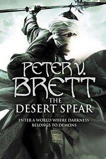 """""""The Desert Spear"""" by Peter Brett"""