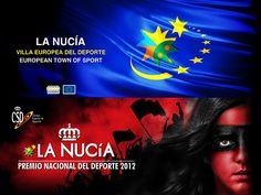 Premios Ciudad Europea del Deporte y Premio Nacional del Deporte.