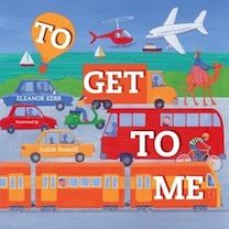 Written by Eleanor Kerr, illustrated by Judith Rossell. A picture book for kids about transport around the world. You can use this book to teach about the different types of transportation choices we have today. Can be used for 1st and 2nd graders.