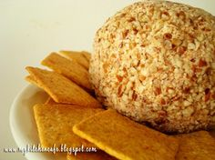 "Love a good cheeseball.  I make a pretty mean one, but she's says this is the ""best"".  Have to try."