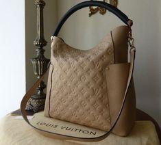 Louis Vuitton Bagatelle in Monogram Empreinte Dune Luxury Handbags, Fashion Handbags, Fashion Bags, Vuitton Bag, Louis Vuitton Handbags, Lv Handbags, Louis Vuitton Monogram, Mein Style, Look Fashion