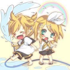 Tags: Anime, Vocaloid, Kagamine Rin, Kagamine Len, Kagamine Twins