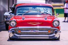 whole lotta led - Auto 2019 1957 Chevy Bel Air, Chevrolet Bel Air, Best Classic Cars, Classic Trucks, Vintage Cars, Antique Cars, Us Cars, Amazing Cars, Awesome