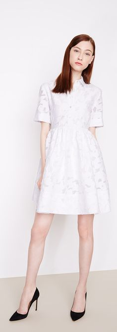 Pure Brilliance: Shop delicate lace dresses by Kate Spade.