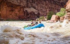 Whitewater Rafting on the Colorado River At the base of the Grand Canyon is the Colorado River, a famous spot for whitewater rafting. (You don't actually have to hike into the Grand Canyon to do a whitewater rafting trip, however, as there are many spots along the 1,450-mile-long river where you can start your adventure.)  One of the most popular places to begin is at Lee's Ferry in Arizona. The trip from Lee's Ferry to Phantom Ranch is a great way to experience the Colorado River rapids, as…