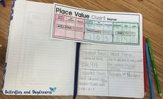 Place Value Notebook