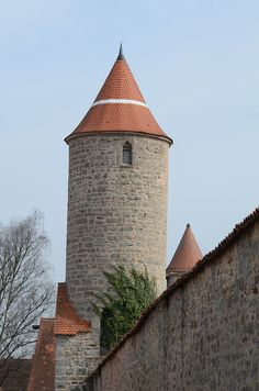 Dinkelsbühl - Germany - Oberer Mauerweg - Hertelsturm