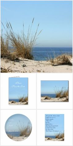#Beach Theme #Wedding Stationery @whitewaves1
