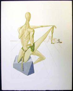 Salvador Dali, Divine Comedy