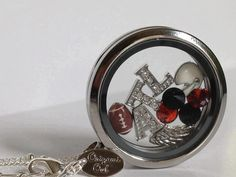 Atlanta Falcons NFL Football Origami Owl Living Locket http://CourtneyMasters.OrigamiOwl.com