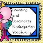 This product contains 21 pages of Vocabulary Words from the CCGPS framework for Kindergarten Math Unit 2. You can post the page size posters on you...