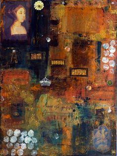 Anne+Boleyn+Tudor+Wife+Giclee+Print+by+PolychromesPalace+on+Etsy,+$25.00